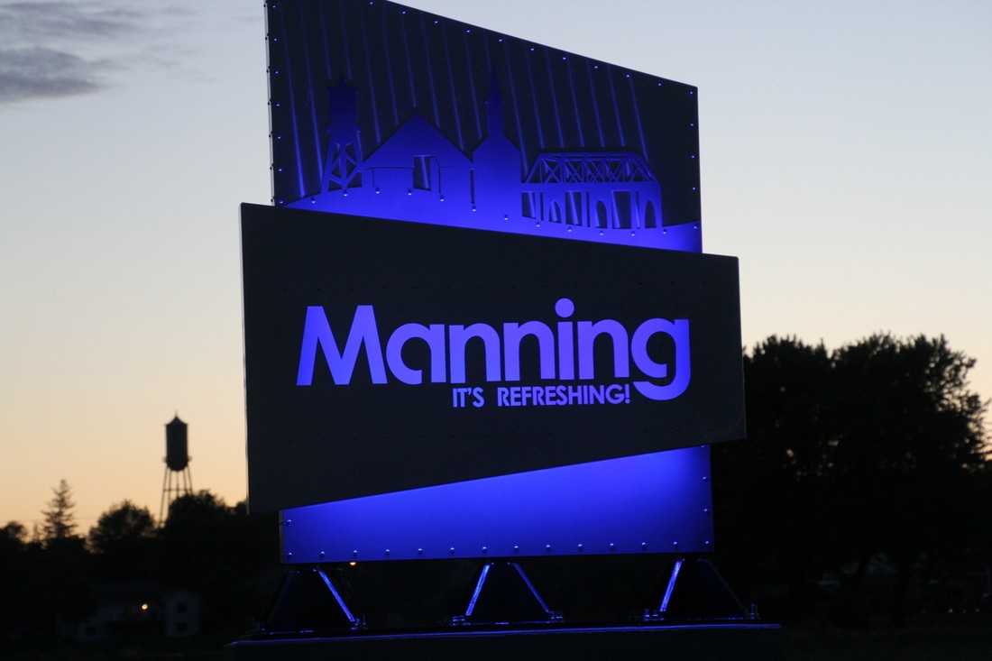 Manning: It's Refreshing! sign